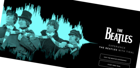 ENDELIG: Beatles var årets julegave til streaming-publikumet. Foto: TIDAL