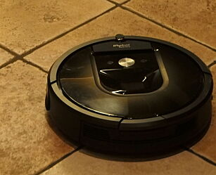 image: TEST: iRobot Roomba 980