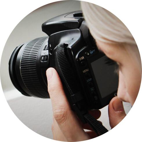 VIKTIGE BILDER: Å ta skikkelige bilder til Finn-annonsen din er viktig, så bruk tid på det. Foto: OLE PETTER BAUGERØD STOKKE
