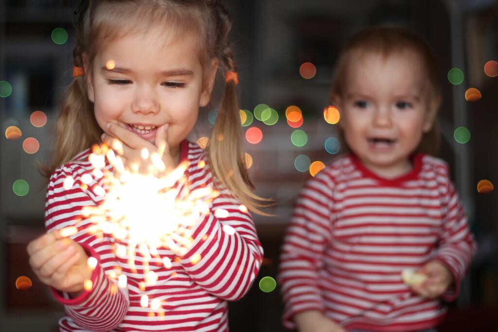 <b>FORBUDT:</b> Alle stjerneskudd er forbudt for barn under 12 år, mens aldersgrensen for de største stjerneskuddene er 18 år. Foto: SHUTTERSTOCK/NTB SCANPIX
