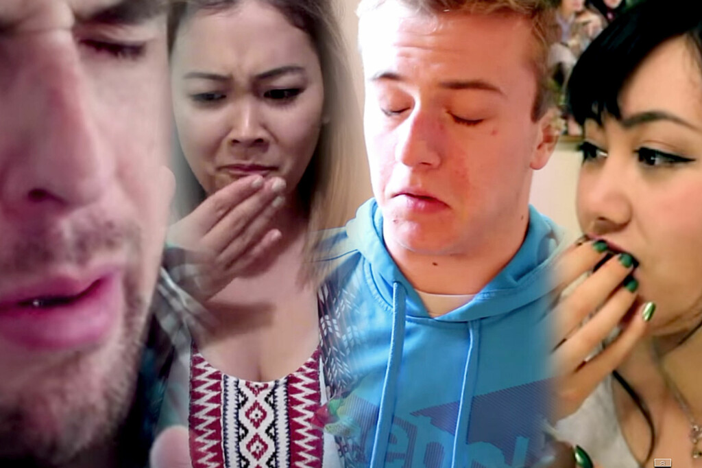 <b>BLANDA DROPS: </b>Youtube-ere som smaker norsk godteri for første gang reagerer forskjellig, for å si det forsiktig.  Foto: YOUTUBE / OLE PETTER BAUGERØD STOKKE
