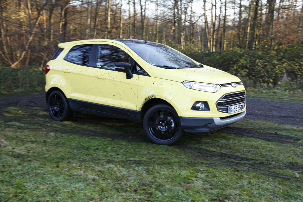 <b>SUSER AVGÅRDE:</b> Ford satser på å jafse i seg store markedsandeler av 4x4- og SUV-salget framover.  Foto: KNUT ARNE MARCUSSEN