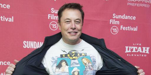 image: Elon Musk - batterimannen  som går motstrøms