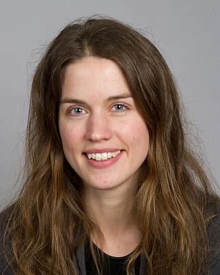 JULETRADISJONER: Både pakkene, nissen og juleribba er av ganske ny dato, forteller konservator Anne Kristin Moe. Foto: NORSK FOLKEMUSEUM
