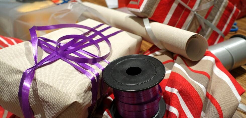 image: Hvordan pakke inn gaver uten julepapir?