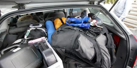 Slik pakker du bilen trygt i jula