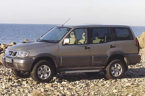 NISSAN TERRANO Foto: STIAN GIHLE