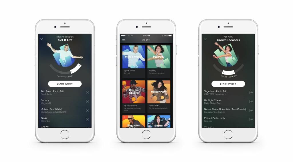 image: Spotify med egen DJ-funksjon