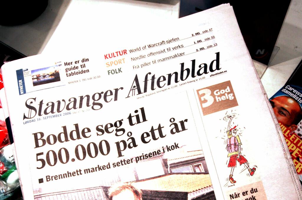 <b>SNODIG LØSNING: </B>Kan Stavanger Aftenblad sette opp prisen etter at folk allerede har betalt, og så be om ekstra betalt neste gang? Det spør mange lesere seg om.  Foto: LISE ÅSERUD / NTB SCANPIX