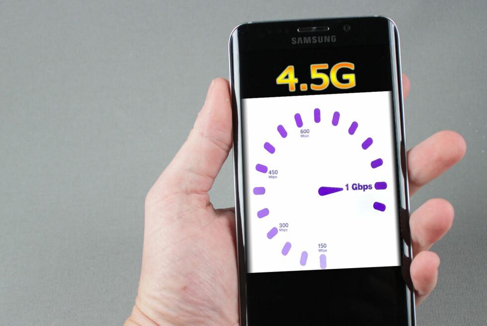 INNTIL 1 GBIT PR SEKUND: 4.5G byr på ekstreme hastigheter, lover Netcom. Foto: DINSIDE