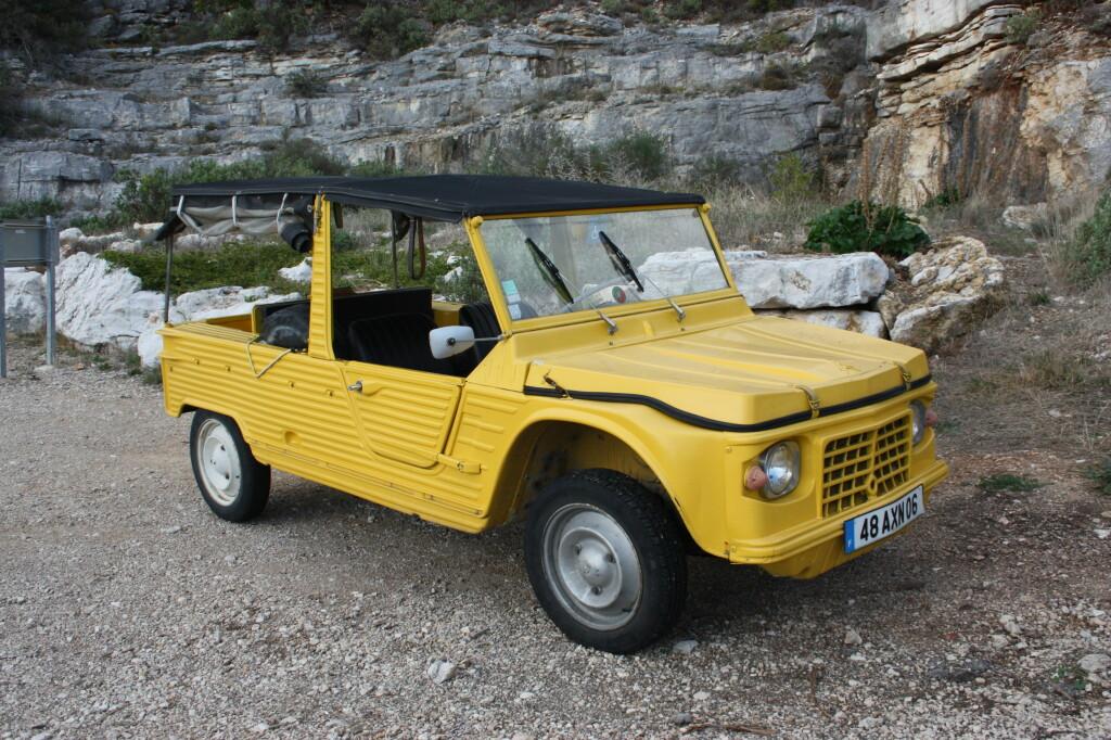 UR-MEHARI: Denne originale Méharien kom vi over under en Ford-prøvekjøring i Frankrike for noen år siden. Foto: KNUT MOBERG