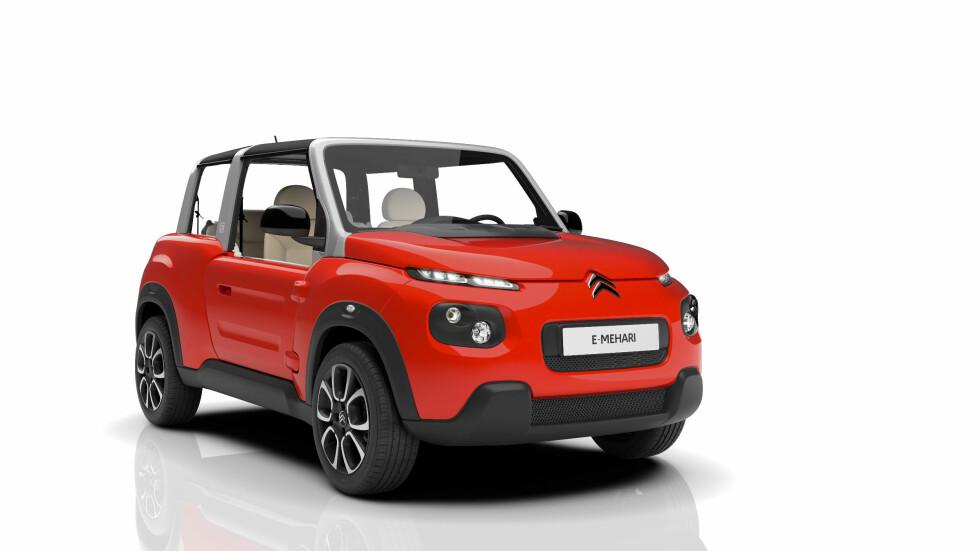 KAKTUS-INSPIRERT: Særlig fronten reflekterer Citroëns unike stil fra biler som C4 Cactus og til dels også C4 Picasso. Foto: CITROËN