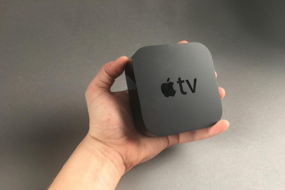 NY BOKS: Årets utgave av Apple TV har fått støtte for apper og en mer avansert fjernkontroll. Foto: PÅL JOAKIM OLSEN