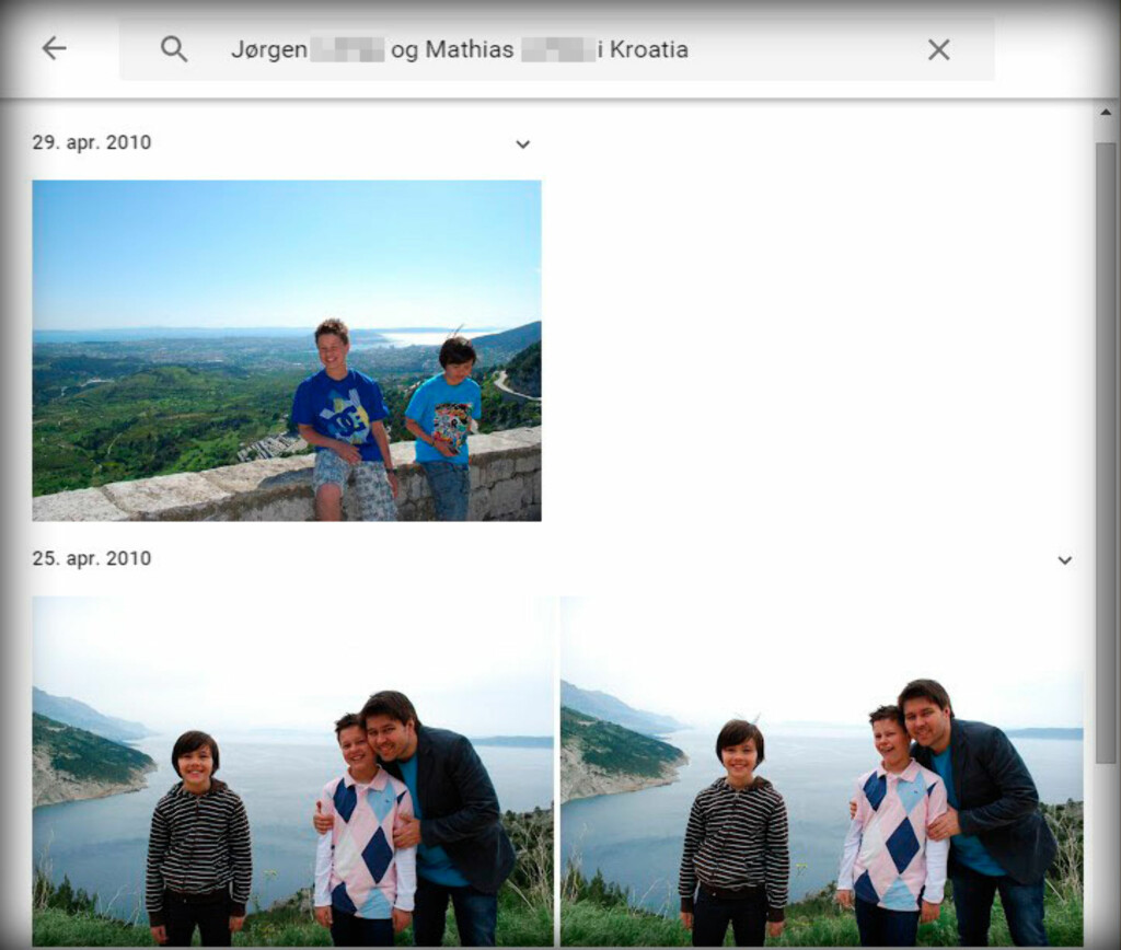 image: Googles ansiktssøk endelig i Norge