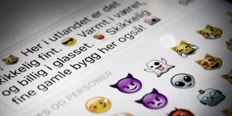 Emoji-fella kan gjøre vanlige SMS-er dyre i utlandet