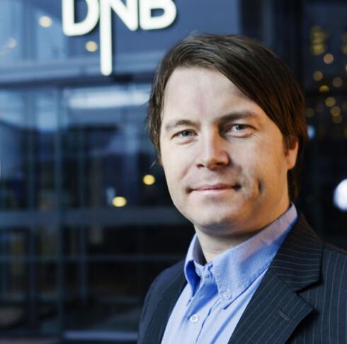 Vidar Korsberg Dalsbø, kommunikasjonsrådgiver i DNB Bank ASA  Foto: DNB