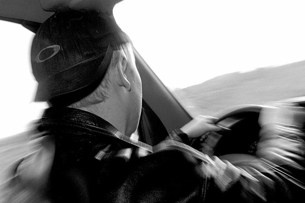 STORE MØRKETALL: Runar Karlsen forteller at det daglig er omtrent 126.000 kjøreturer hvor sjåføren  i en eller annen form er  ruset. Foto: NTB SCANPIX