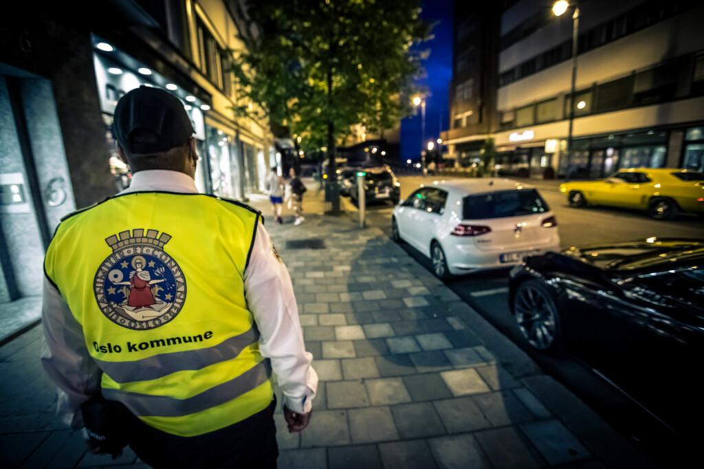 <b>PÅ JAKT ETTER SYNDERE:</b> Oslovaktene på patruljering. Foto: BYMILJØETATEN