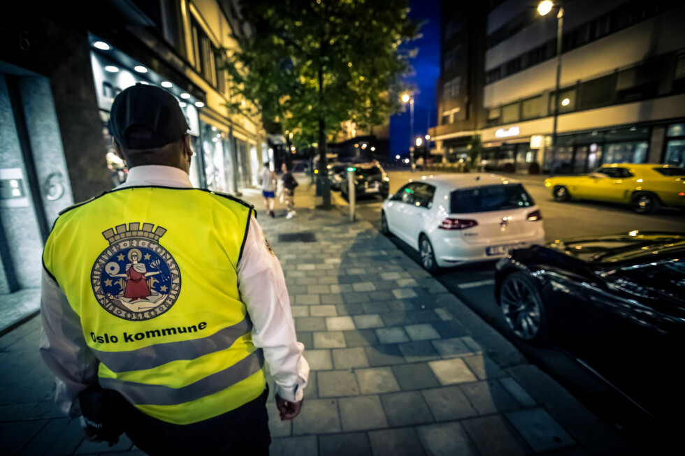 PÅ JAKT ETTER SYNDERE: Oslovaktene på patruljering. Foto: BYMILJØETATEN