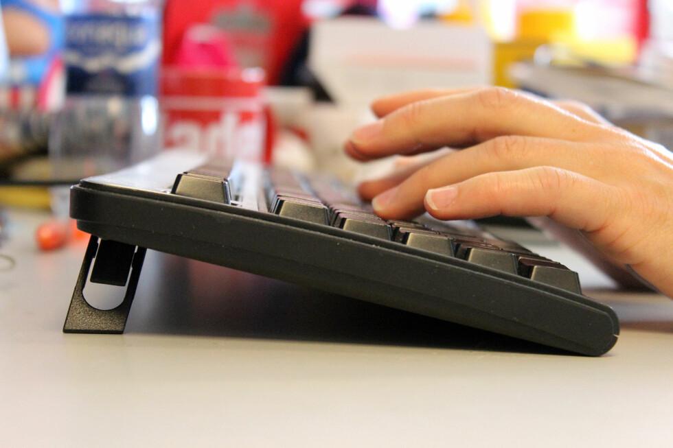 SMARTE TRIKS: Følger du våre tips, vil du snart kunne skrive mye raskere på tastaturet. Foto: KIRSTI ØSTVANG