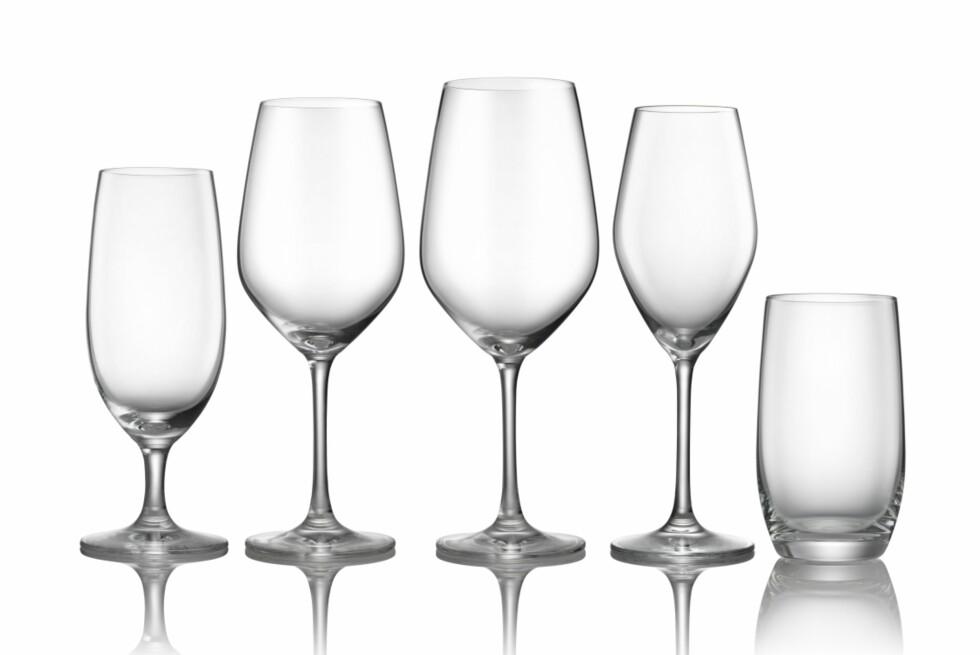 Hva med komplett glasserie fra Hellstrøm til jul?