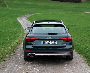 image: Dinside kjører helt nye Audi A4 allroad
