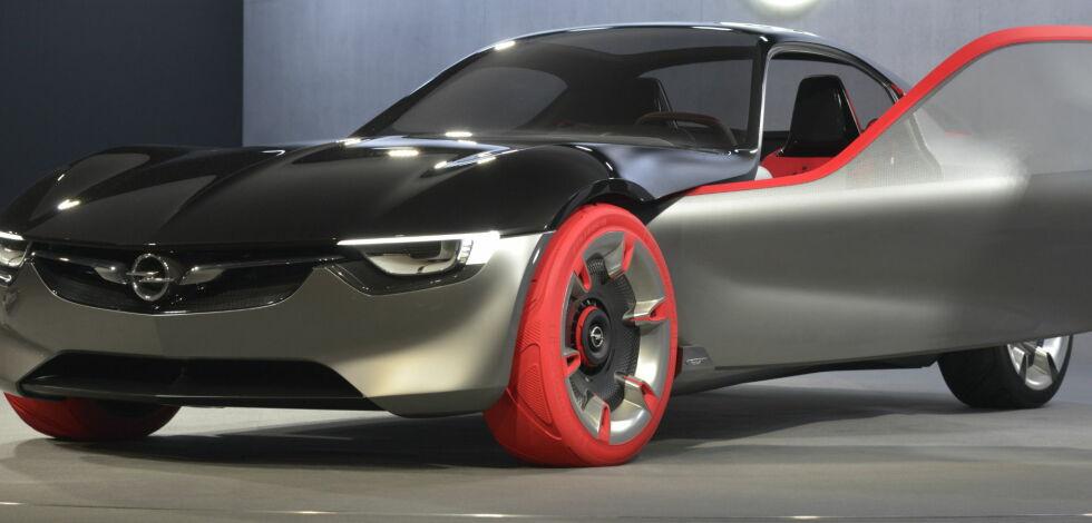 image: Opel GT Concept 2016 vekker oppsikt