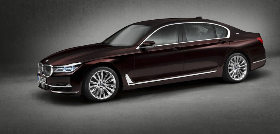 image: Mektig fra BMW: M760Li xDrive