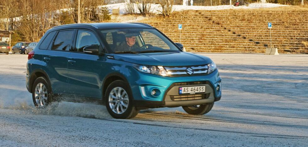 image: Suzuki Vitara kjørt med diesel og automat