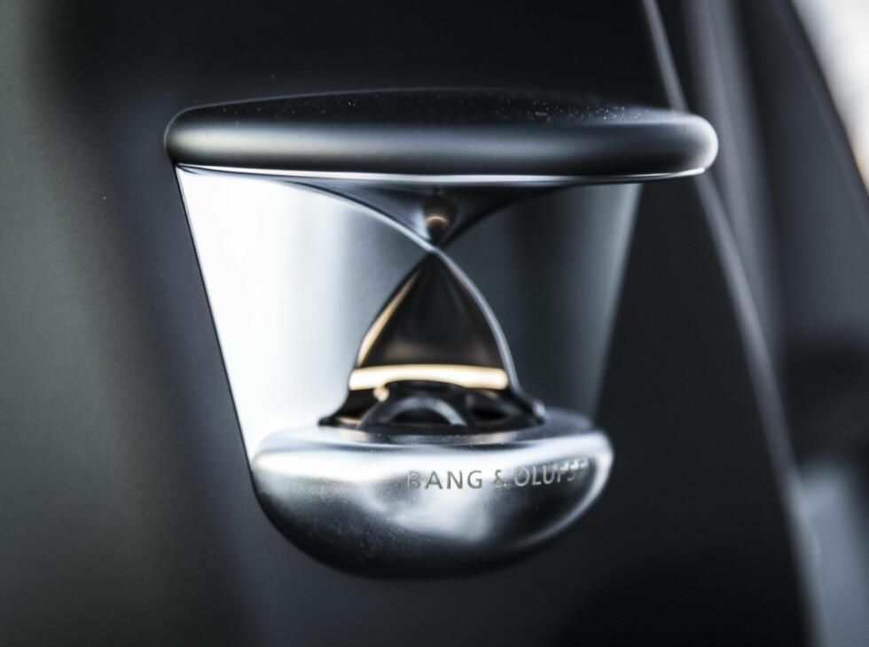 KONSERT LYD:Bang & Olufsen musikk anlegg levere førsteklasse lyd og ser skikkelig tøffe!  Foto: JAMIESON POTHECARY