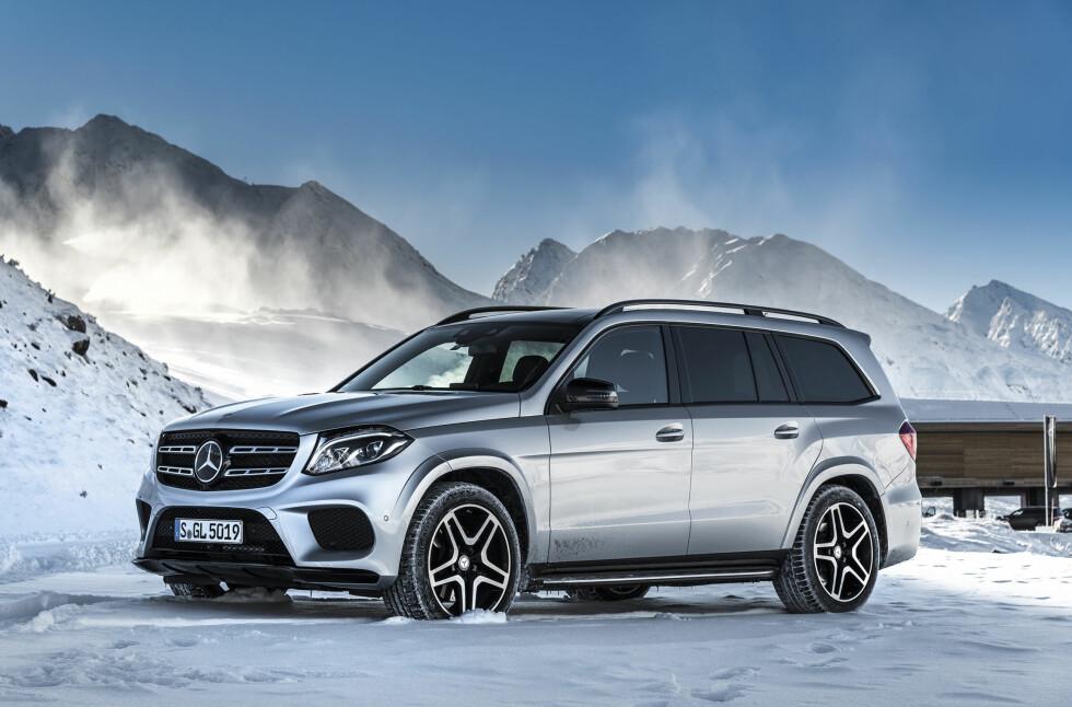 S-KLASSE VERDIG?: Mercedes-Benz skryter av å ha laget SUVenes S-klasse. Har de lyktes med oppgaven?  Foto: JAMIESON POTHECARY