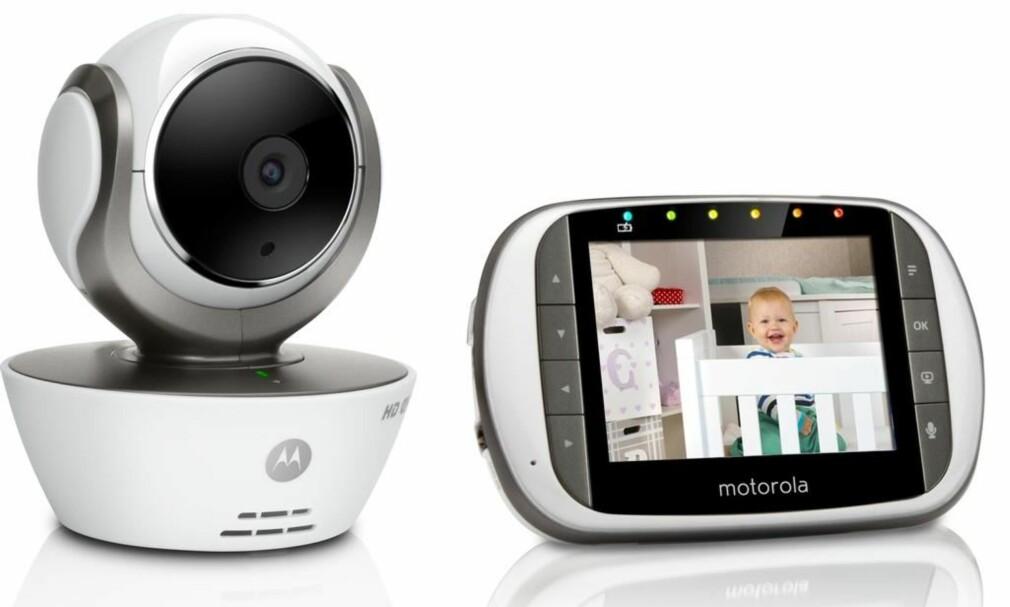 AVANSERT: For litt over 2.000 kroner koster en babycall som burde tilfredsstille nervøse småbarnsforeldre uten tekno-angst. (FOTO:MOTOROLA)