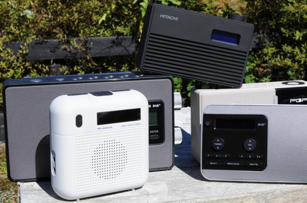 VALGETS KVAL: Det finnes et godt utvalg av DAB-radioer til overkommelig pris. Foto: TORE NESET