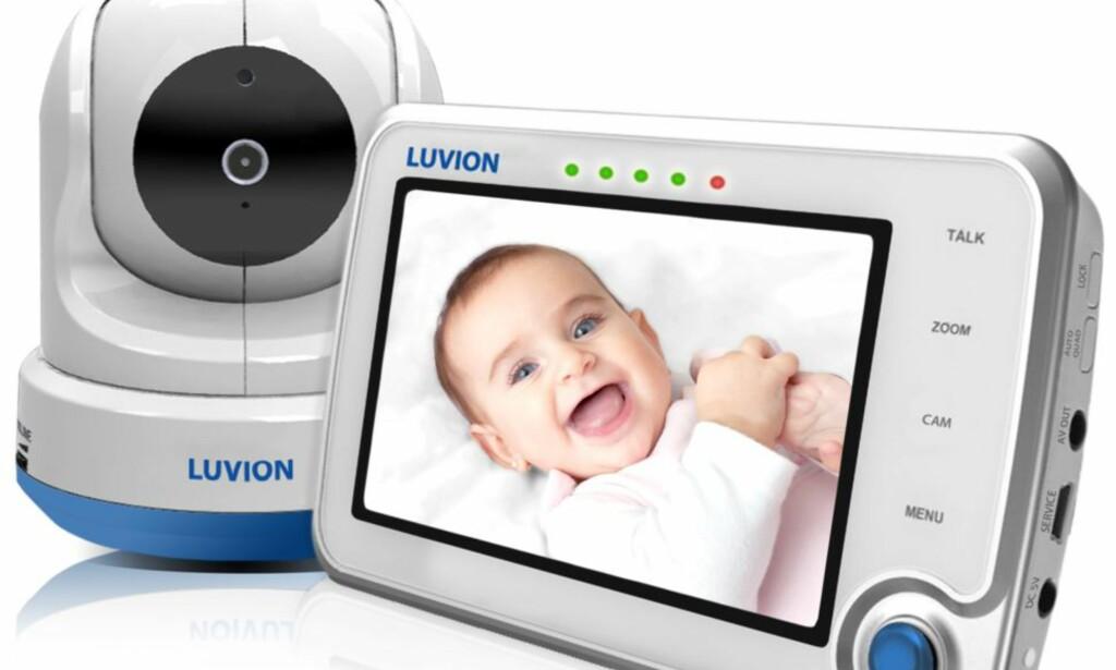 MED KAMERA: Luvion Supreme Connect tilfredsstiller ikke de strengeste sikkerhetskravene. (FOTO: LUVION.NO)