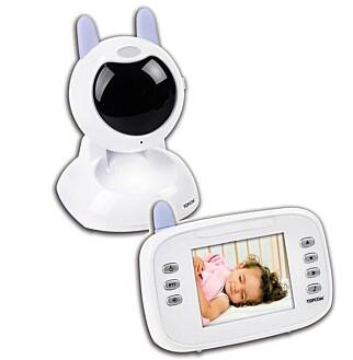 BARNEVENNLIG?: Topcons kamera er formet som en «koselig» kanin. (FOTO: TOPCON)
