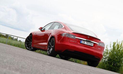 image: Tesla med ny batteripakke