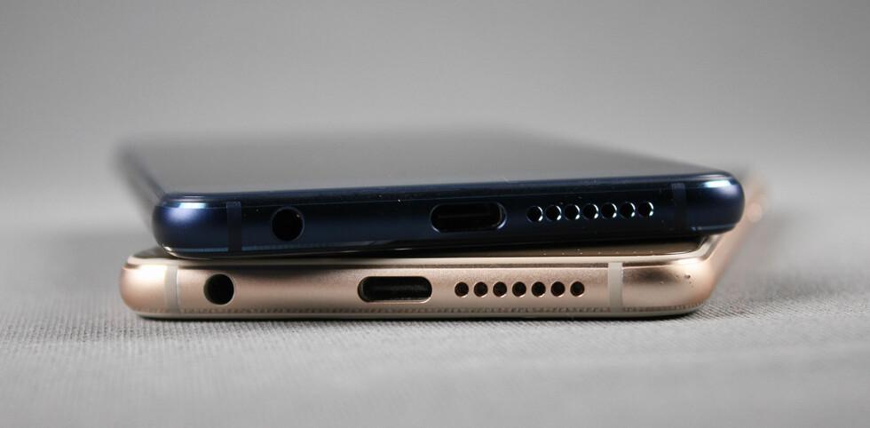 NY KONTAKT: USB-C begynner å komme på stadig flere mobiltelefoner og bærbare PC-er om dagen. Foto: PÅL JOAKIM OLSEN