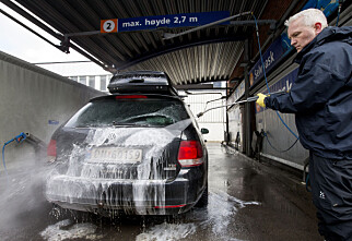 Hvordan vaske bil om vinteren?