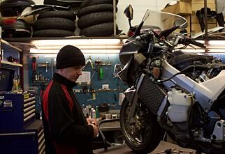 Dette må du gjøre med motorsykkelen din før du setter den bort