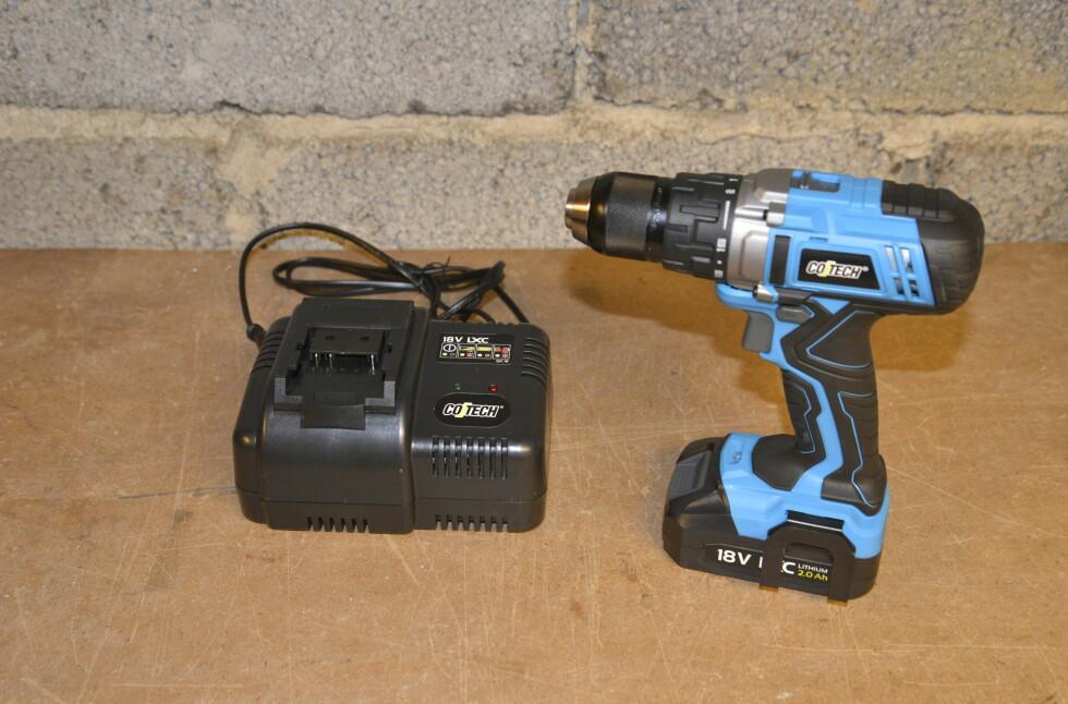 NY DRILL: Maskinen er oppdatert til en vesentlig kraftigere utgave. Foto: BRYNJULF BLIX