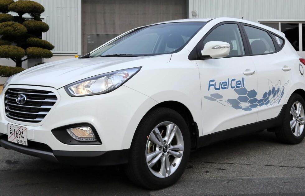I SALG: Hyundai iX35 er allerede i salg i Norge, og biler finnes.  Foto: HYUNDAI