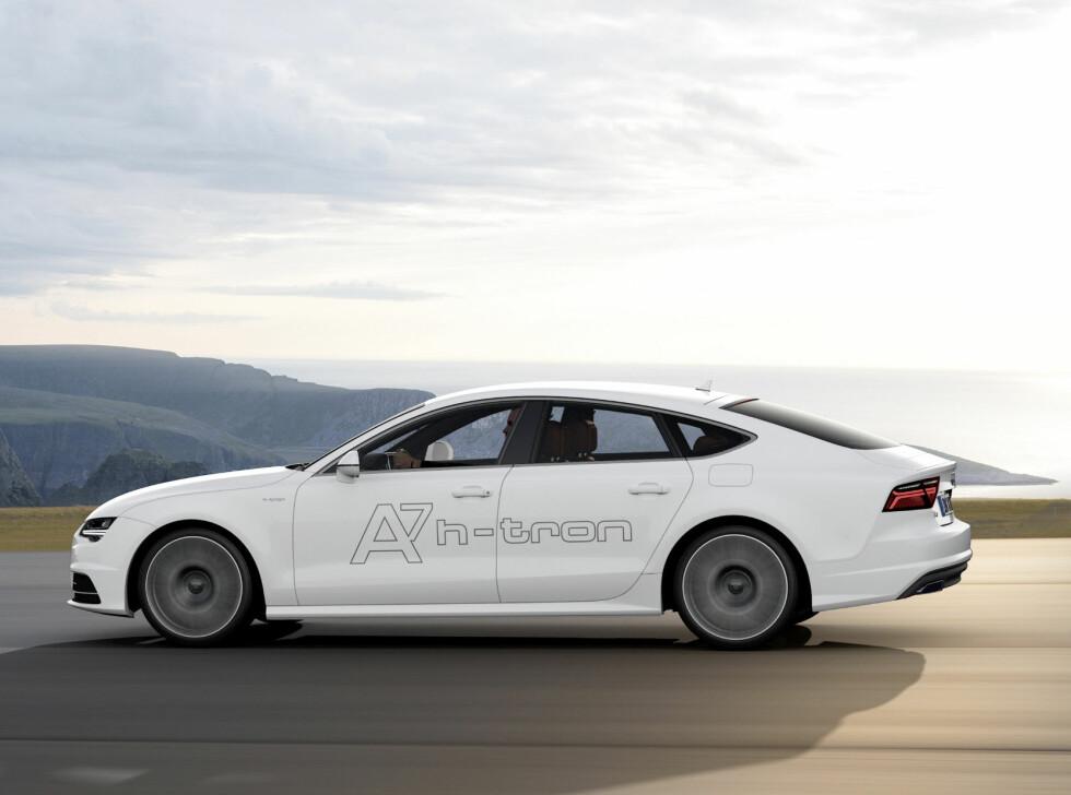 PROTOTYPE: Audi har lenge kjørt rundt med flere A7 prototyper. I 2020 kommmer deres første bil for salg.  Foto: Audi