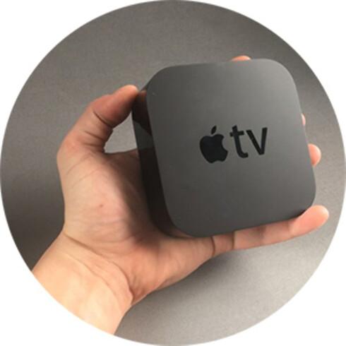 NY UTGAVE: Den siste utgaven av Apple TV har støtte for apper, deriblant Netflix, men også på den forrige modellen kan du bruke Netflix uten annet ekstrautstyr.