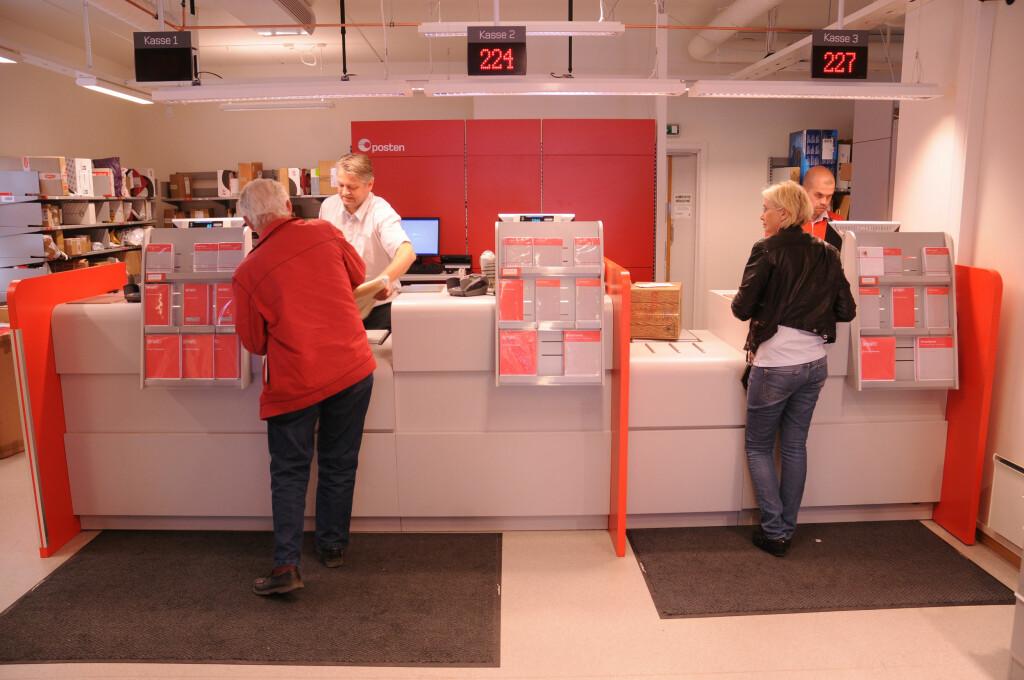 <b>SENDE PAKKER TIL JUL?</b> Posten er ikke den eneste som kan hjelpe deg med å få pakkene frem til jul. Foto: POSTEN