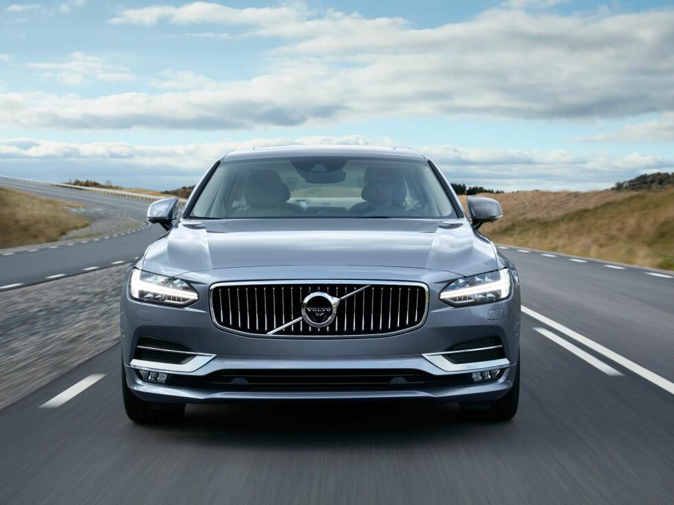 SKANDINAVISK: Volvo forteller at bilene skal ha et skandinavisk designspråk.  Foto: VOLVO