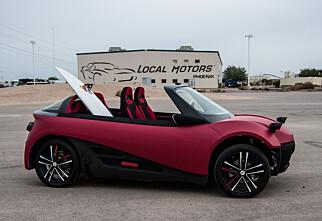 Local Motors med 3D-printet bil