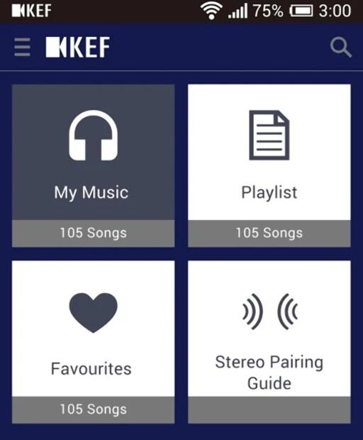 ENKEL: KEF-appen er i praksis bare en musikkavspiller, og det finnes langt bedre løsninger til det i app-butikkene.