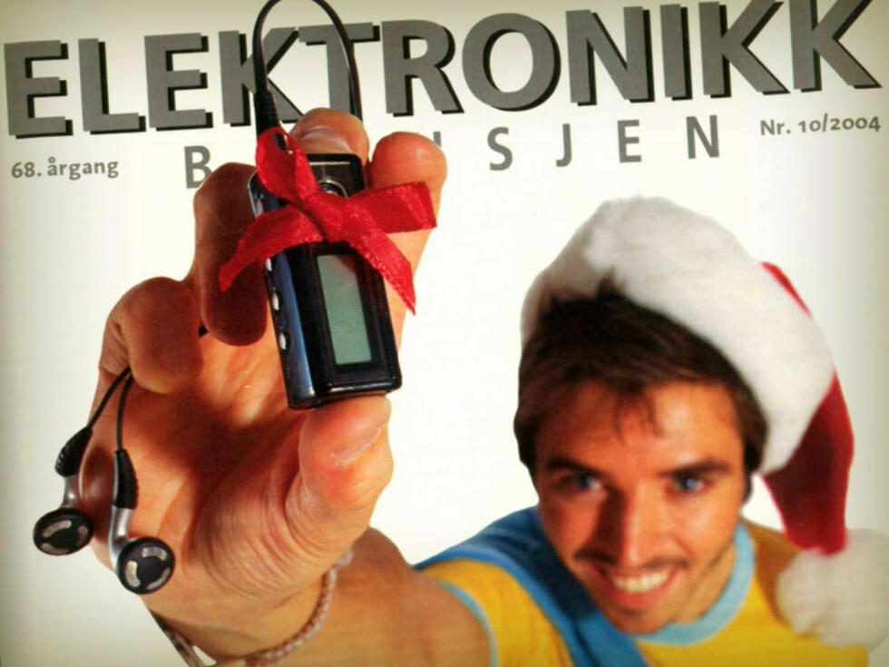 VINNER 2004: MP3-spillere.  Foto: ELEKTRONIKKBRANSJEN