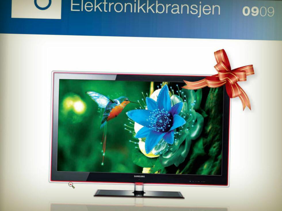 VINNER 2009: LED-TV fra Samsung. Foto: ELEKTRONIKKBRANSJEN