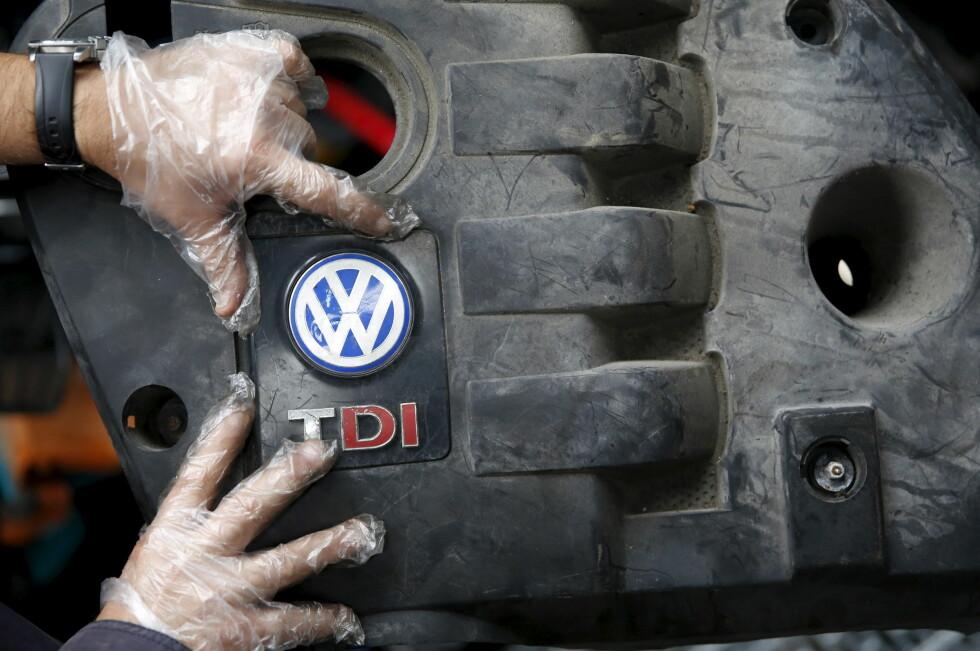 UTBEDRINGER GODKJENT: Volkswagen har fått godkjent sinde forslag til forbedringer av skandalemotorene. Foto: NTB Scanpix